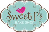 Sweet P Bake Shop Logo